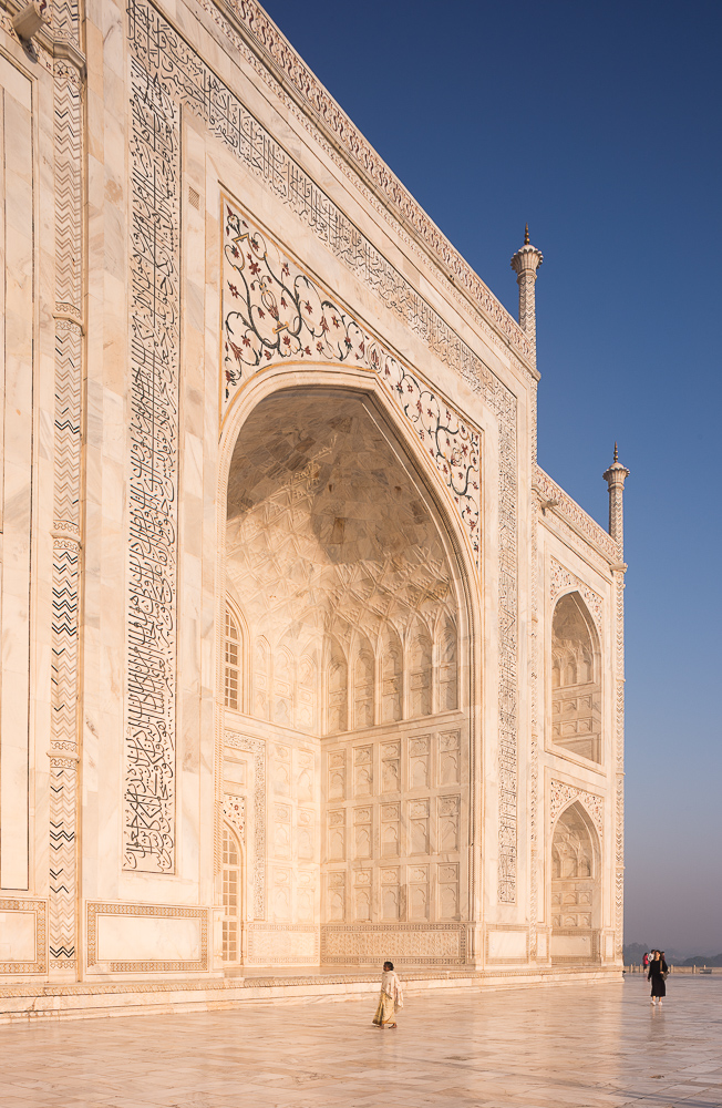 Dawn at The Taj Mahal, Agra, Uttar Pradesh, India