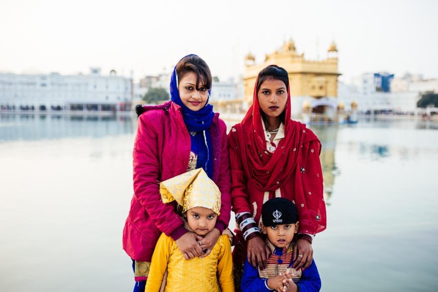 Harmandir Sahib (Golden Temple), Amritsar, Punjab, India