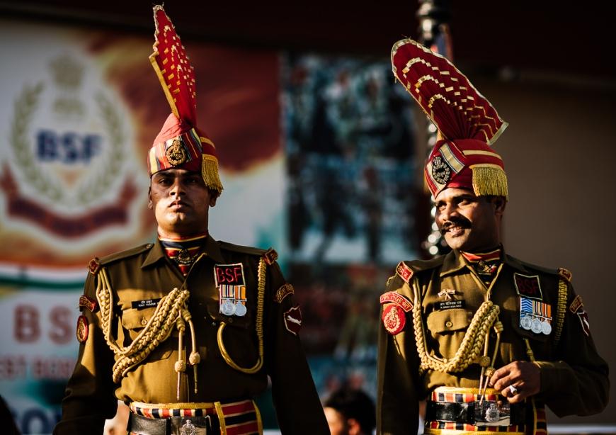 Wagha Border Ceremony, Attari, Punjab Province, India