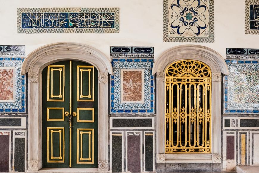 Topkapi Palace, Sultanahmet, Istanbul, Turkey