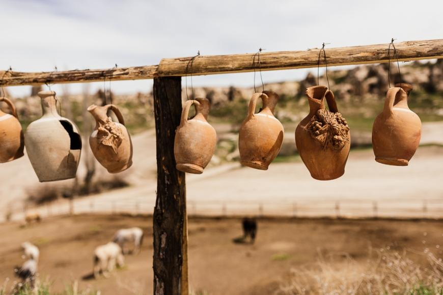 Pottery, Goreme, Cappadocia, Anatolia Region, Turkey