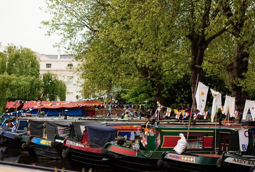 The Canal Cavalcade, Little Venice, London, England