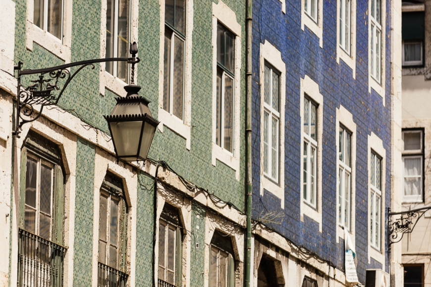 Detail of architecture, Lisbon, Portugal
