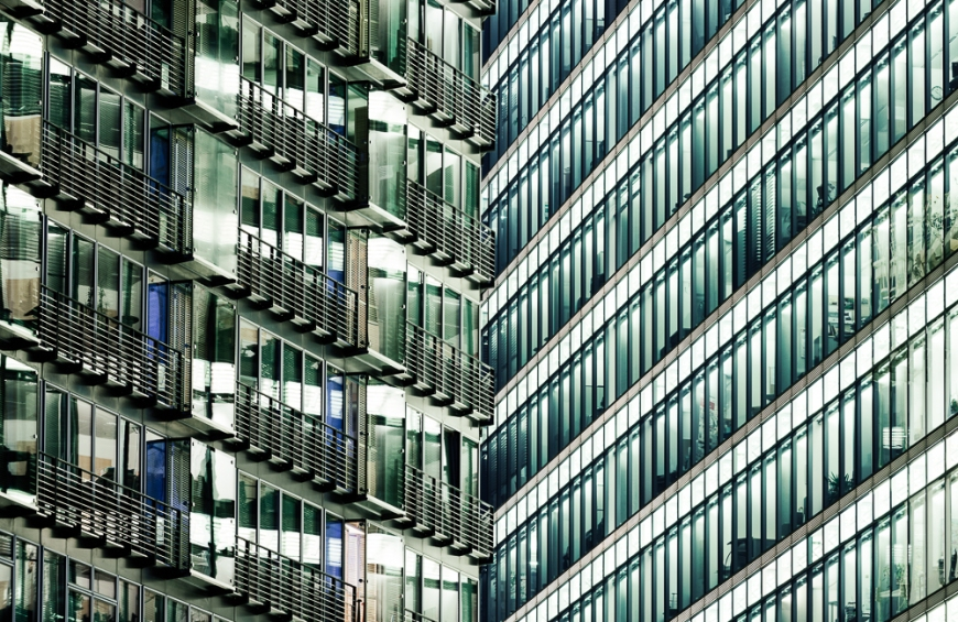 Detail of Architecture, Potsdamer Platz, Berlin, Germany, Europe