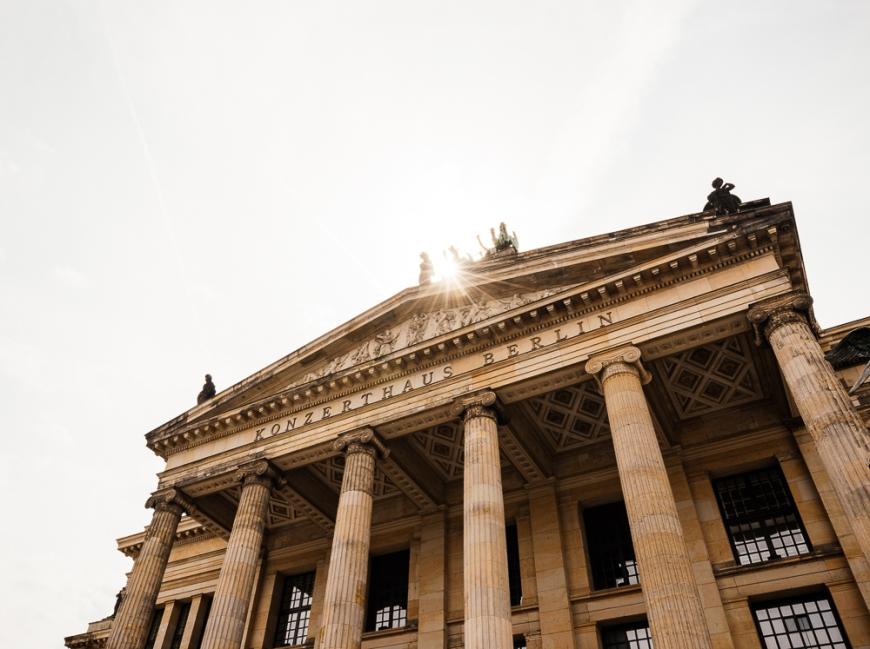Exterior of Konzerthaus, Gendarmenmarkt, Berlin, Germany, Europe