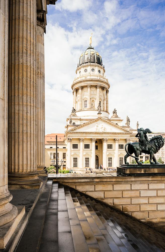 Deutscher Dom, Gendarmenmarkt, Berlin, Germany, Europe