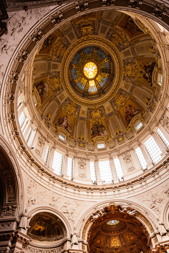 Interior of Berlin Cathedral, Berlin, Germany, Europe