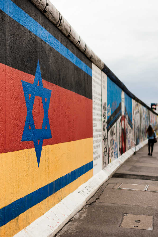 Detail of Mural, East Side Gallery (Former Berlin Wall), Muhlenstrasse, Friedrichshain District, Berlin, Germany, Europe