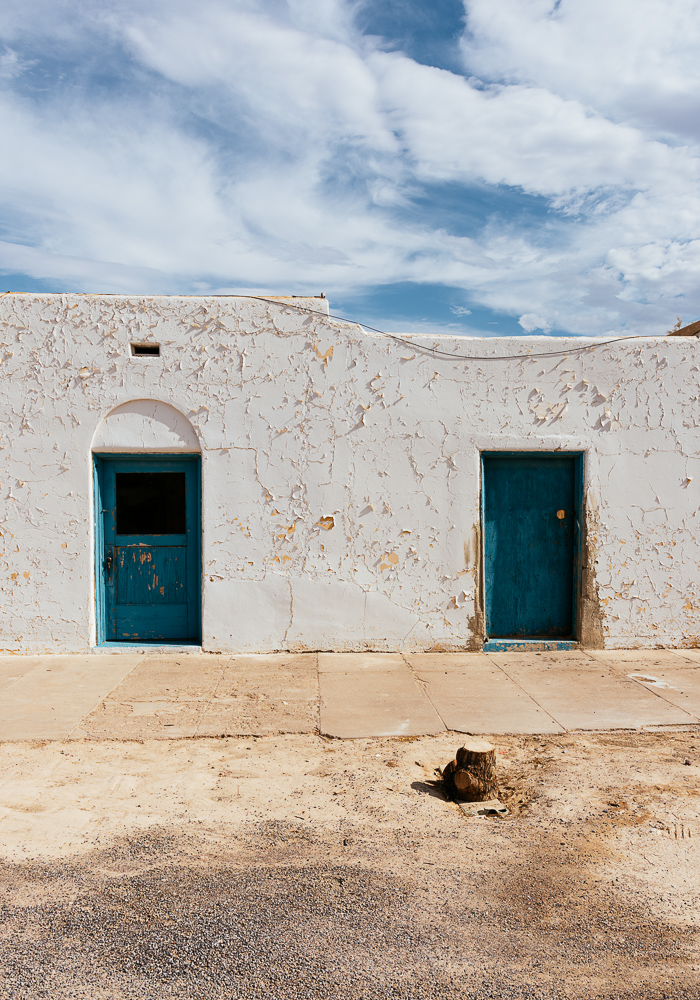 Exterior of Amargosa Opera House and Hotel, Death Valley Junction, California, USA