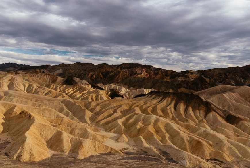 Zabriskie Point, Death Valley National Park, California, USA