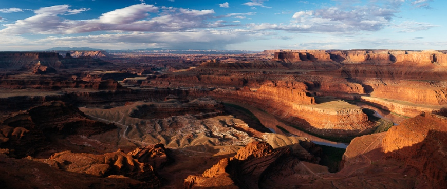 Dead Horse Point Overlook at dawn, Utah, USA