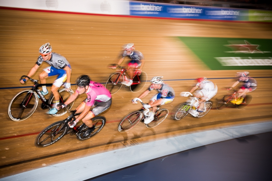Day 2 of the London Six Day Cycle event at The Velodrome, Stratford