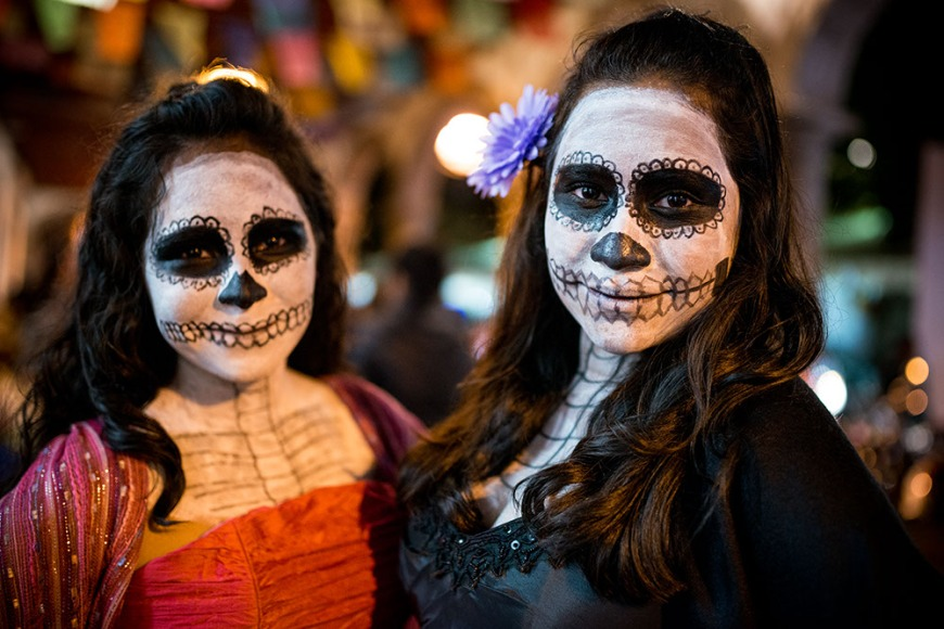Dia de los Muertos Costumes, Patzcuaro, Michoacán, Mexico