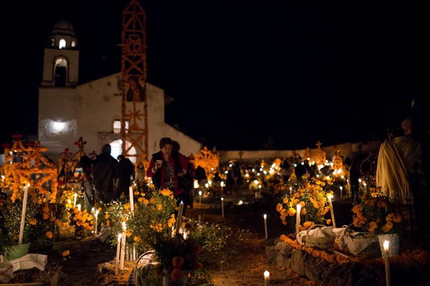 Dia de los Muertos Celebrations, Patzcuaro, Michoacán, Mexico