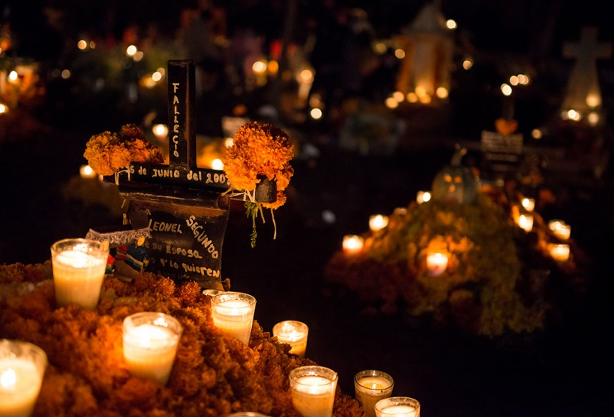 Dia de los Muertos Celebrations, Tzurumutaro, Lake Patzcuaro, Michoacán, Mexico