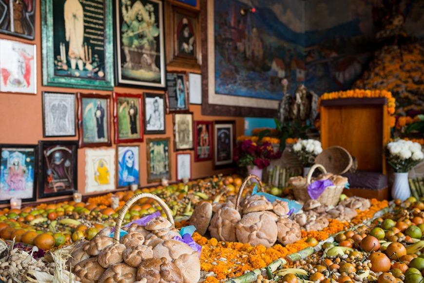 La Santa Muerte Altar, Lake Patzcuaro, Michoacán, Mexico