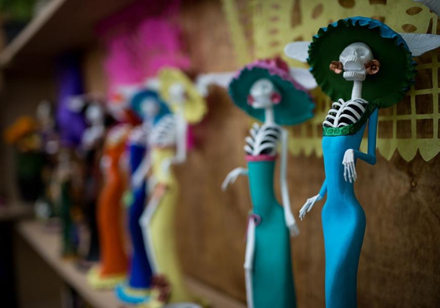 Catrina Dolls. Capula, Michoacán, Mexico