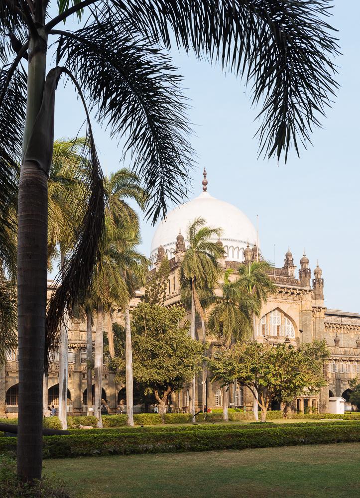 Exterior of Prince of Wales museum, Mumbai, India