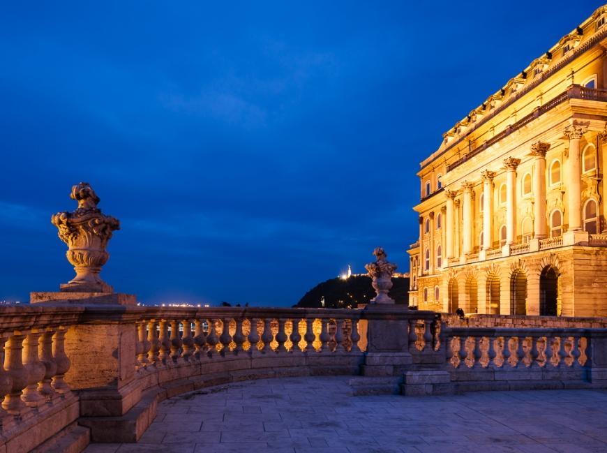 Royal Palace of Buda, Budapest, Hungary