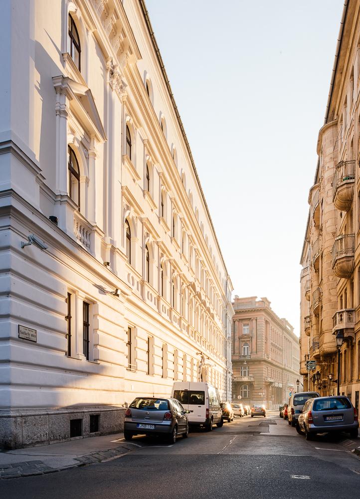 Classic architecture near Batthyány ter, Budapest, Hungary