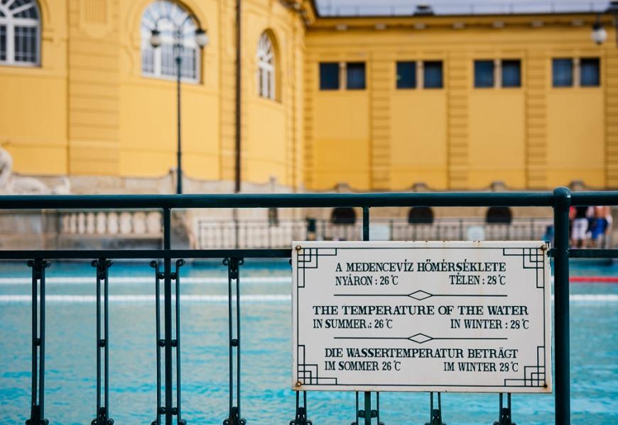 Széchenyi Thermal Baths, Budapest, Hungary