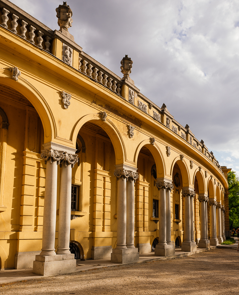 Exterior of Széchenyi Thermal Baths, Budapest, Hungary