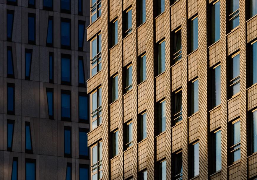 Detail of Architecture, Rotterdam, Netherlands