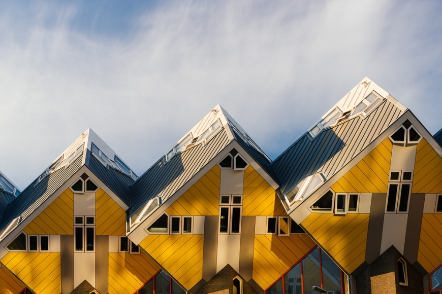 Cube Houses - 'Blaakse  Bos', Oudehaven, Rotterdam, Netherlands