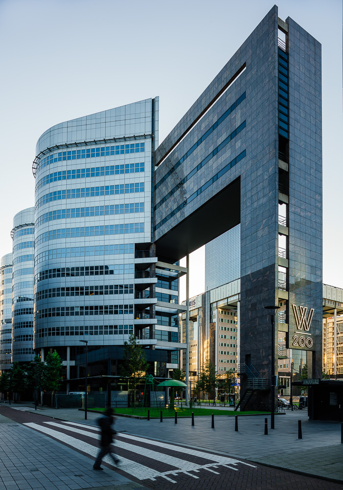 Exterior of W200 Building, Rotterdam, Netherlands