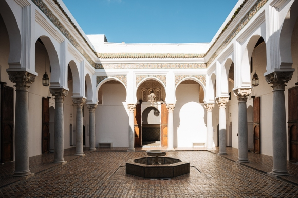 Interior Architecture at Dar el-Makhzen Museum, Kasbah, Tangier, Morocco, North Africa