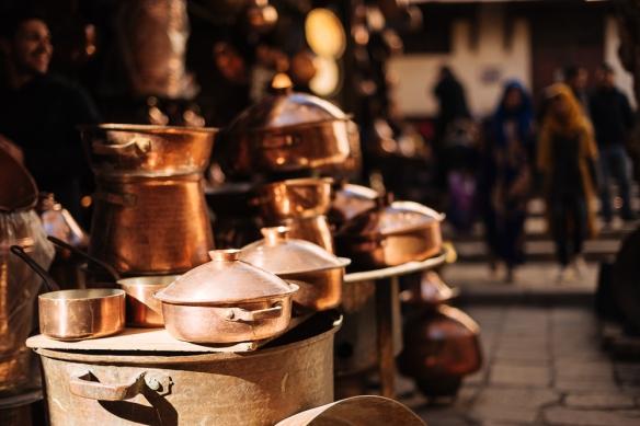Place Seffarine, Medina, Fes el Bali, Fes, Morocco, North Africa