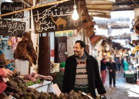 Market, Medina, Fes el Bali, Fes, Morocco, North Africa