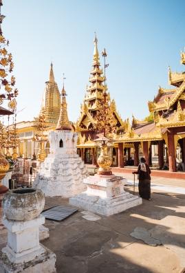 Shwezigon Pagoda, Bagan, Mandalay Region, Myanmar