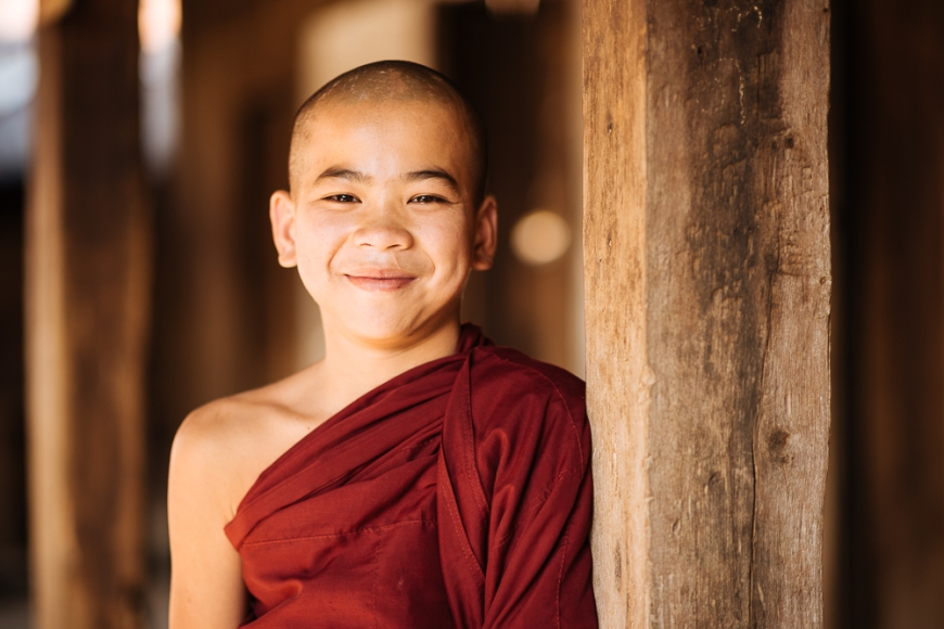 Portrait of Klatha, Hsipaw, Shan State, Myanmar, Asia