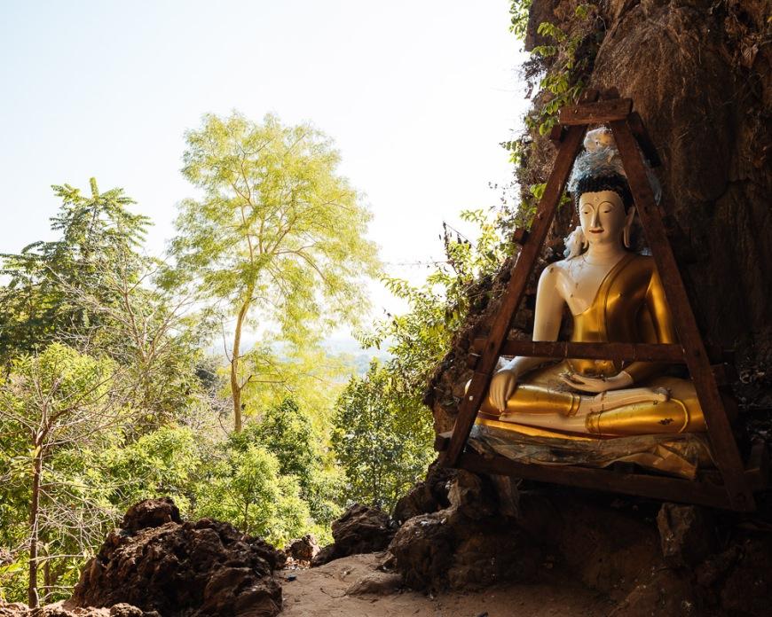 Yathe Byan Cave, Hpa-an, Kayin State. Myanmar, Asia