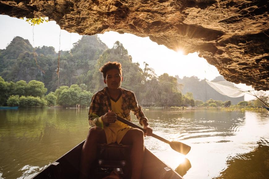 Sa-dan Cave near Hpa-an, Kayin State. Myanmar, Asia