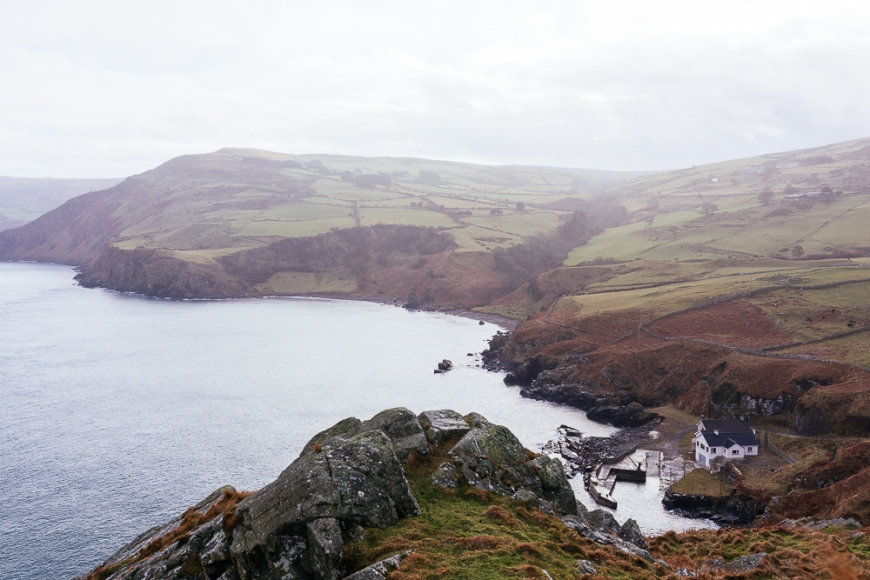 View from Torr Head, County Antrim, Northern Ireland