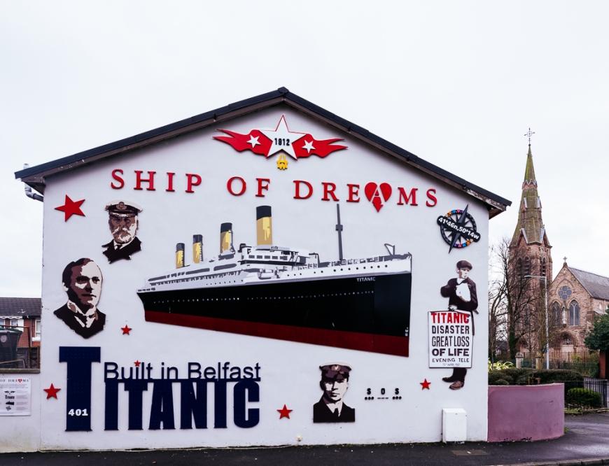 titanic mural belfast northern ireland