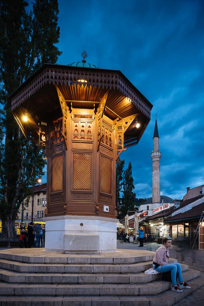 Pigeon Square, Sarajevo, Bosnia