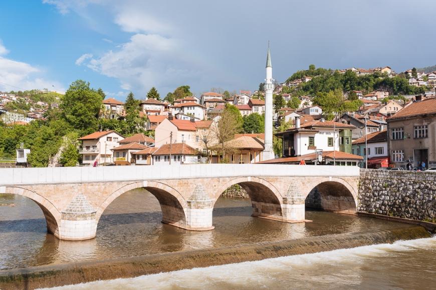 Šeher-Ćehajina ćuprija Bridge, Old Town, Sarajevo, Bosnia
