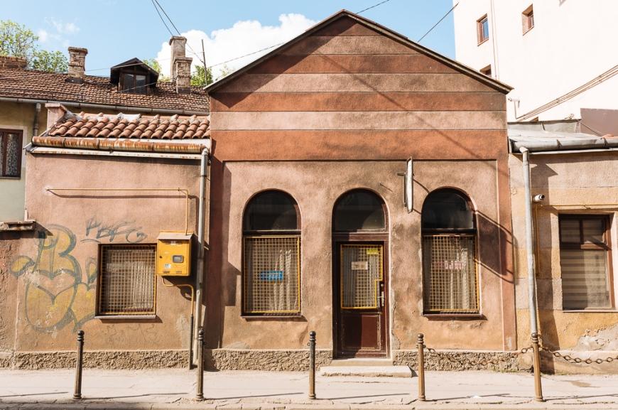 Exterior of Vijećnica, Old Town, Sarajevo, Bosnia