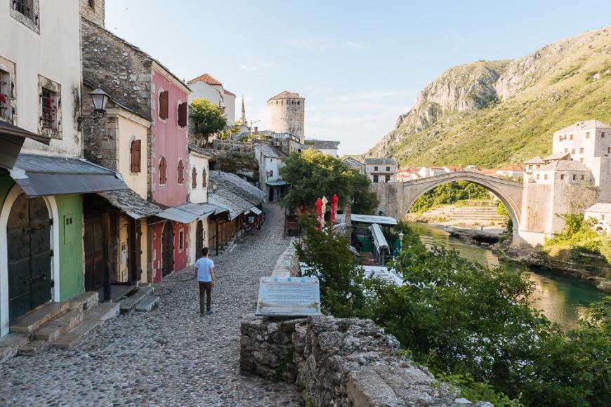 Stari Most Bridge, Mostar, Bosnia & Hercegovina