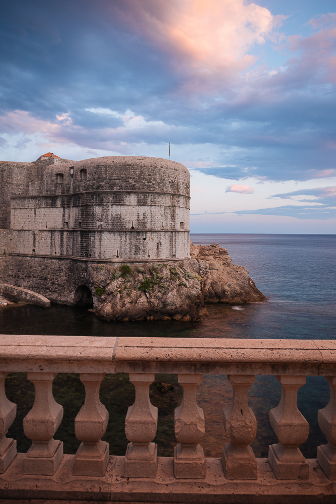 Tvrdava City Walls, Old Town, Dubrovnik, Croatia