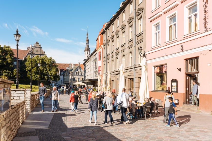 Old Town, Tallinn, Estonia, Europe