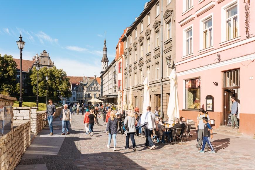 Old Town, Tallinn, Estonia, Europe