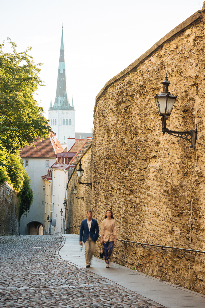 Pikk Jalg Street, Old Town, Tallinn, Estonia, Europe
