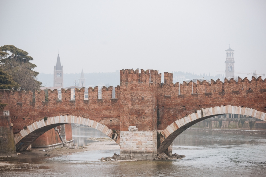 Ponte di Castelvecchio, Verona, Veneto Province, Italy, Europe