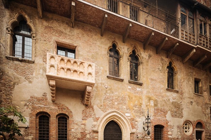 Juliet's house, Casa di Giulietta, Verona, Veneto Province, Italy, Europe