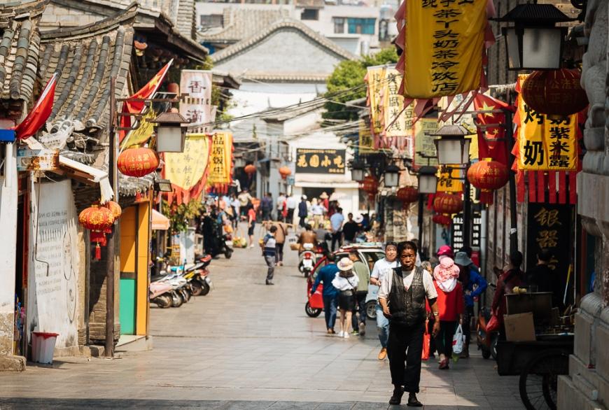 Street Scene, Jianshui, Yunnan Province, China