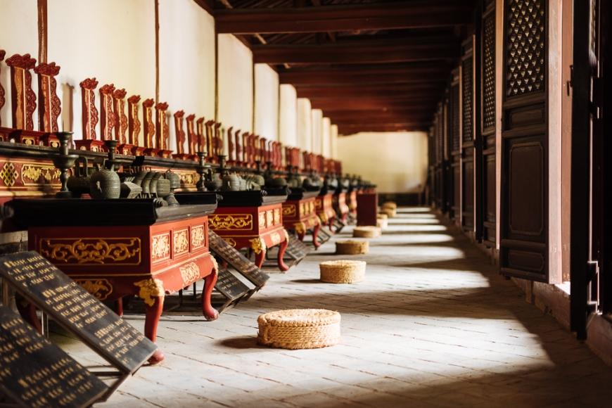 Dongwu Hall, Confucian Temple, Jianshui, Yunnan Province, China